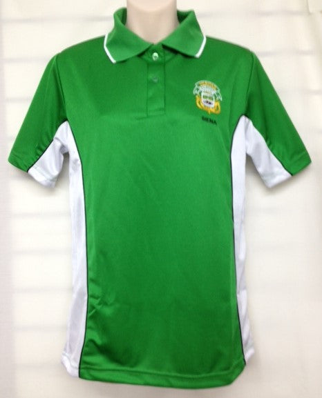 Sports Shirt - Siena/Green - SD