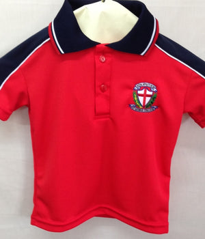 Red Early Learning Polo - SG