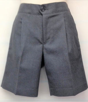 Boy's Grey Shorts Elastic Back - SG