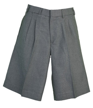 Boy's and Men's Grey Shorts Belt Loops - SG