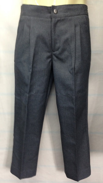 Boy's Elastic Back Grey Trousers – SG