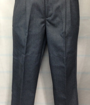 Boys Grey Trousers - Elastic Back - RS