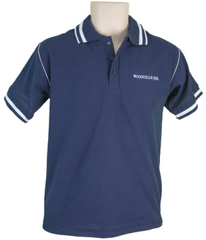 Short Sleeve Navy Polo Shirt – WH