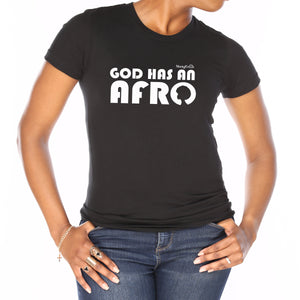 God Has An Afro Classic T-Shirt