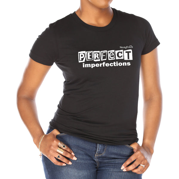 """perfect imperfections"" T-Shirt - Noisy Knits T-shirt Company"