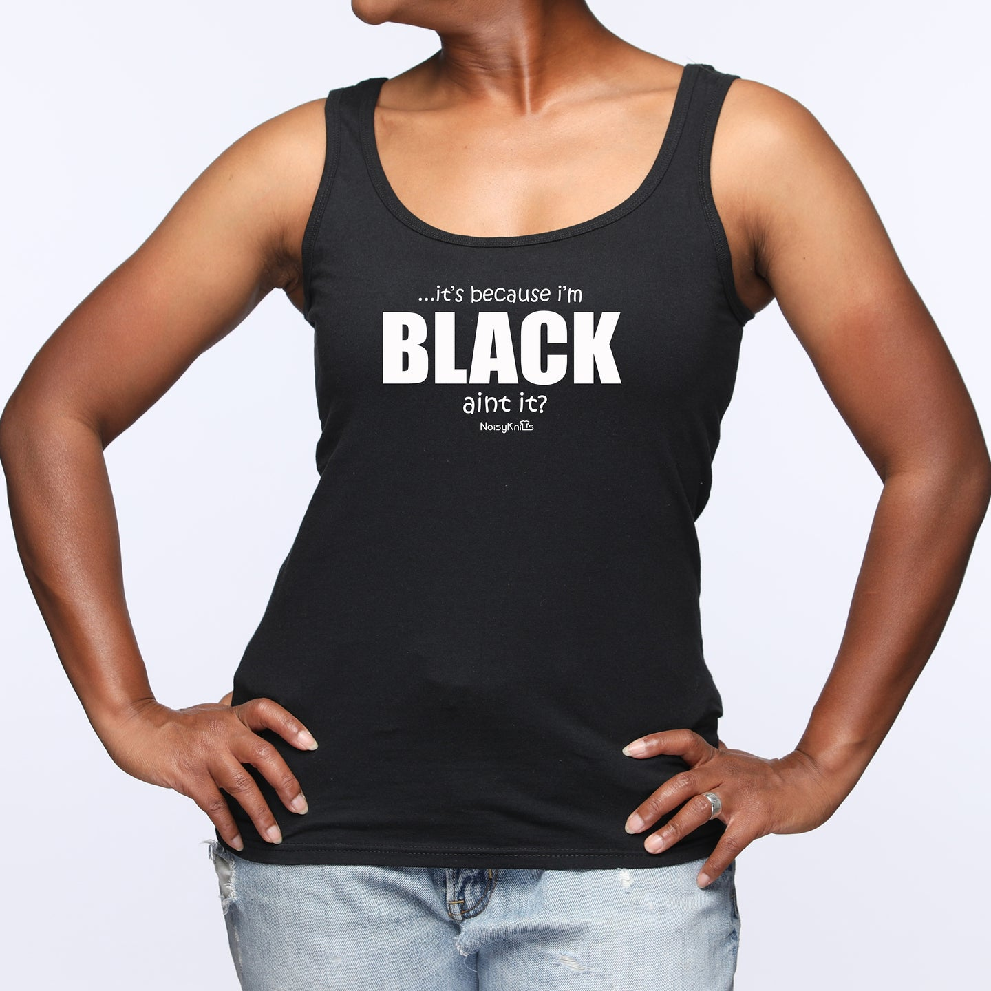 Because I'm Black Tank