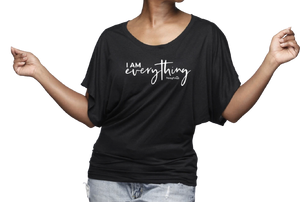 "I Am Everything Black ""Batwing"" Tee"