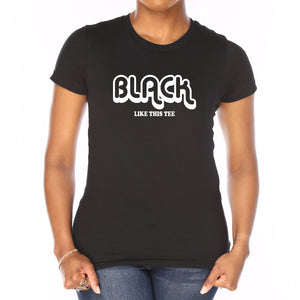 Black Like This Tee (Limited Quantity in Regular Fit - 10% off)