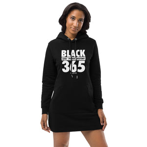 Black 365 Hoodie dress