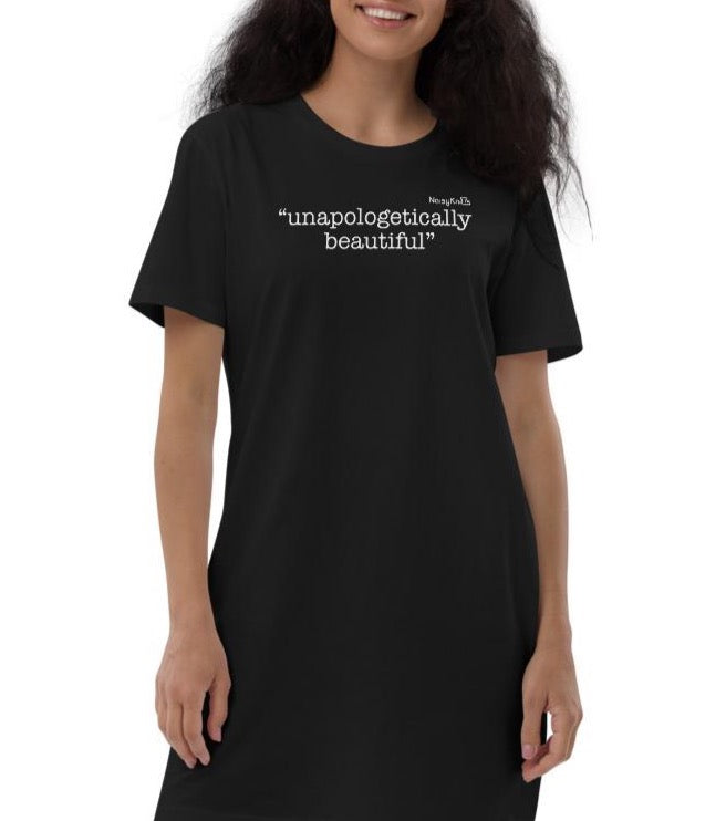 Unapologetically Beautiful Organic Cotton TShirt Dress