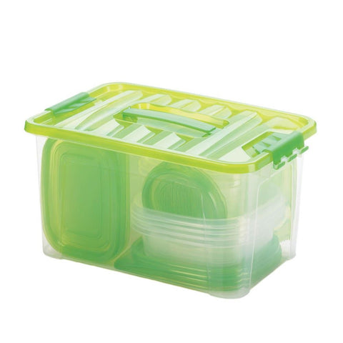 54 Peice Food Storage Set - Green