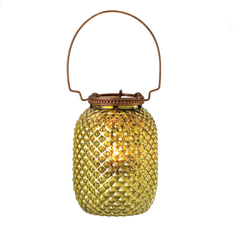 Small Diamond Candle Lantern