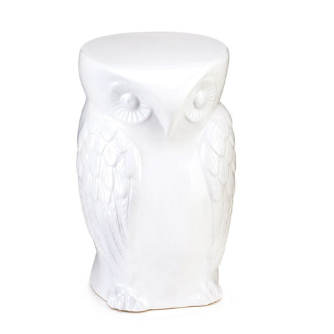 Owl Ceramic Decorative Stool