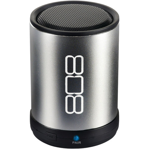 808 Bluetooth Portable Speaker (silver)