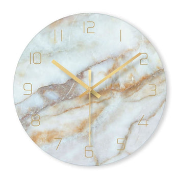 Round Creative Mute Wall Clock - My Aashis