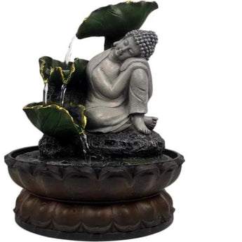 Auspicious Buddha Tabletop Water Fountain