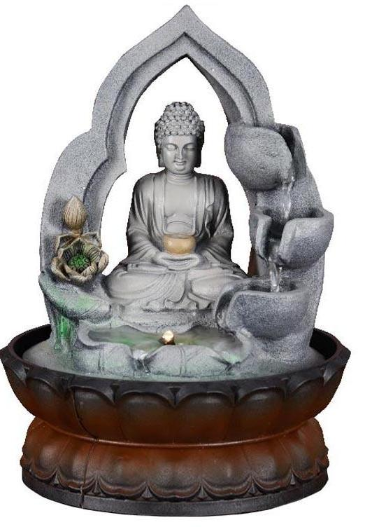 Home Decor Water Fountains.Buddha Statue Home Decoration Water Fountain