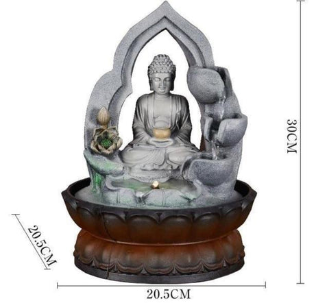 Buddha Statue Home Decoration Water Fountain - My Aashis