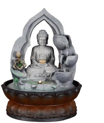 Indoor Religious Buddha Water Fountain Statue - My Aashis