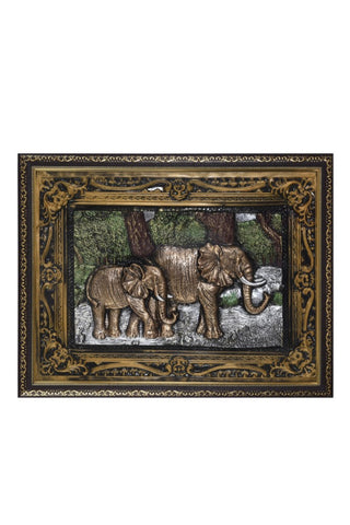 Elephant Printed 3D Frames Classic, Decorative Frames/Wall Hangings For Home