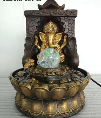 Ganesha  Water Fountain & Statue For Home Decor - My Aashis