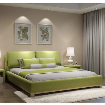 Modern Soft Sleeping Bed For Bedroom Furniture - My Aashis