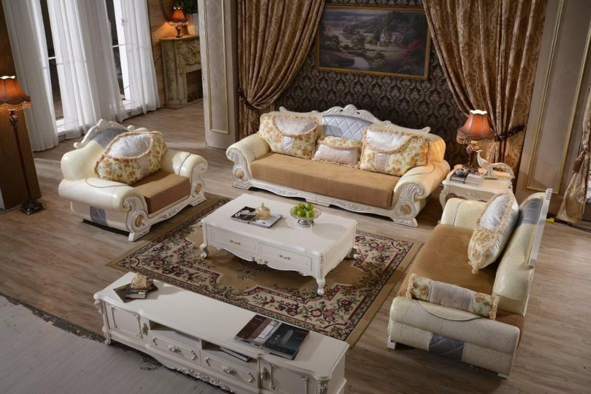 Full Bedroom Set And Living Room Leather Furniture Set My Aashis