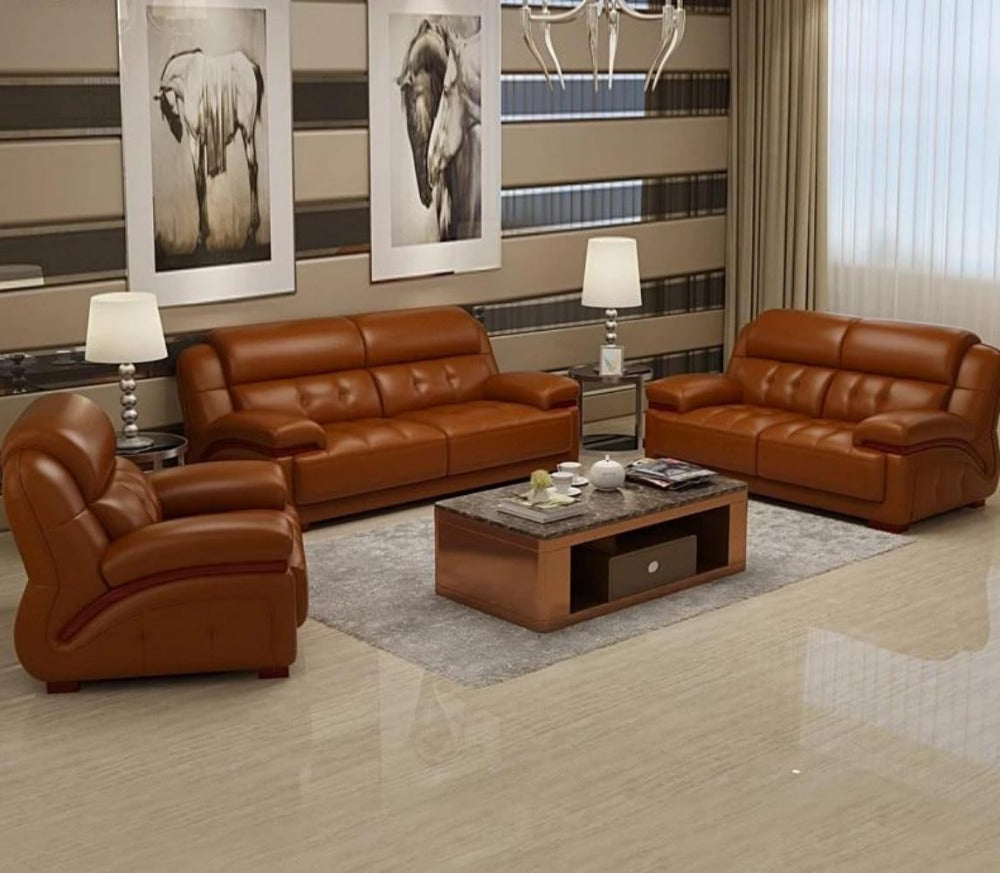 Modern & Genuine 3-2-1 Sofa Set For Living Room