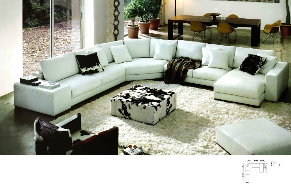 Modern Design Sofa Large L Shaped Corner Sofa set – My Aashis