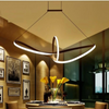 Remote Dimming Modern Led Pendant Light Led Lamp for Dinning Room - My Aashis