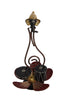 Iron Handmade Ganeha Lotus Shaped Show Piece