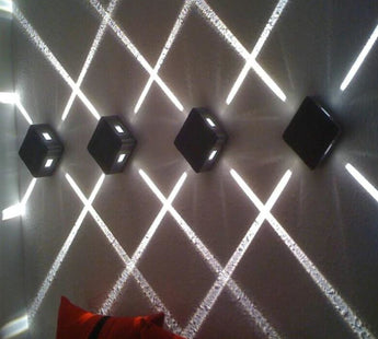 Contemporary 4pcs Wall LED Light For Home Decor - My Aashis