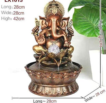 Decorative Indoor Ganesha Water Fountain - My Aashis