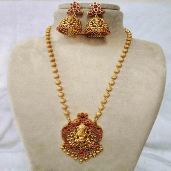 Navratri Special Lord Ganesha Necklace Set - My Aashis