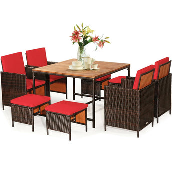 Modern Lightweight Patio Outdoor Dining Set - My Aashis