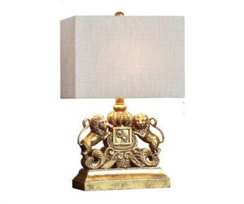 Stylish Lion Design Table Lamps - My Aashis