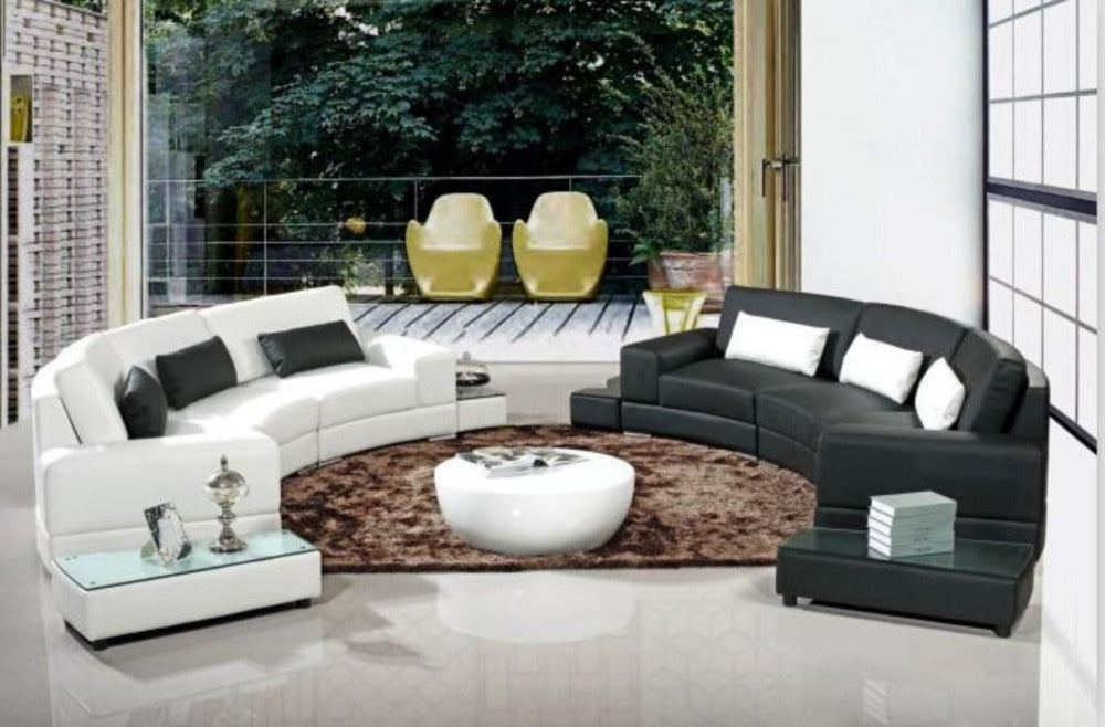 Astounding Modern Arc Shaped Sofa Set For Living Room Furniture My Aashis Caraccident5 Cool Chair Designs And Ideas Caraccident5Info
