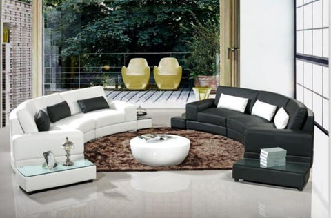 Modern Arc-Shaped Sofa Set For Living Room Furniture - My Aashis