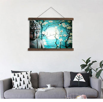 Buddha Magical Canvas For Wall Decor - My Aashis