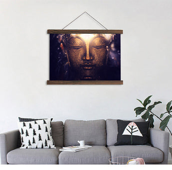 HD Buddha Religious Modern Hanging Canvas - My Aashis