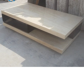 Marble Shine Durable Coffee Table - My Aashis