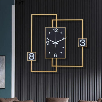 Colossal Luxury Wall Clock Creative Home Decoration - My Aashis