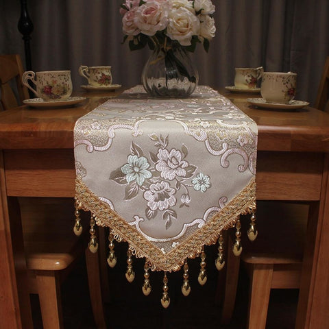 Light Luxury Bottom Hanging Table Runner - My Aashis