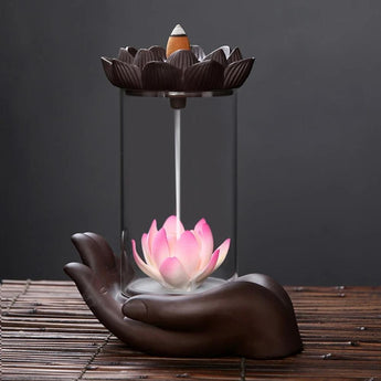 Elegant Traditional Down Stream Incense Holder - My Aashis