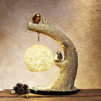 Decorative Bird Table Lamp - My Aashis