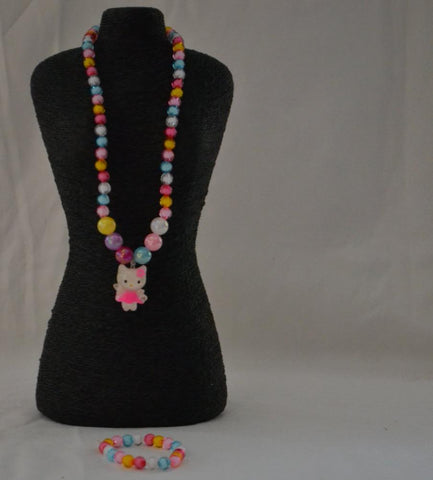 Beautiful Coloured Matching Jewelleries for Girls - My Aashis