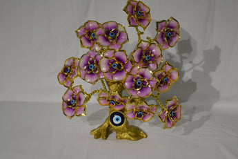 Evil Eye Butterfly Tree Decoration for Protection and Brings Good Luck