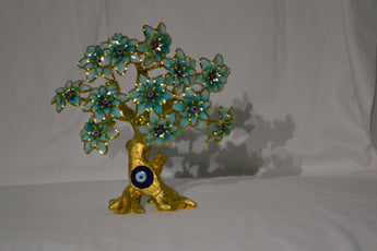 Evil Eye Butterfly Tree Decoration for Protection and Brings Good Luck Tree - My Aashis