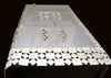 Linen Sevill Decorative Embroidered Cutwork Table Cloth - My Aashis