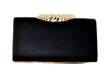 Evening Cocktail Party Handbag Clutch Purse Decorative Drill - My Aashis